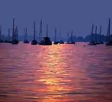 Poole Harbour by John Novis
