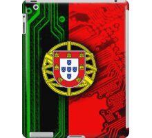 circuit board Portugal (Flag) iPad Case/Skin