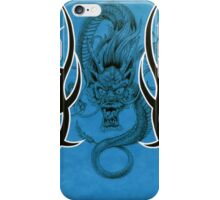 Tribal Dragon Blue iPhone Case/Skin