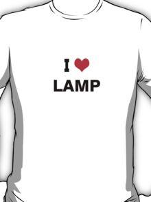 I love Lamp T-Shirt