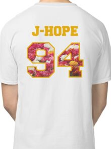 BTS- J-HOPE 94 Line Flower Design Classic T-Shirt