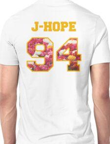 BTS- J-HOPE 94 Line Flower Design Unisex T-Shirt