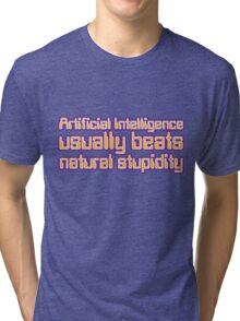 Artificial Intelligence Tri-blend T-Shirt