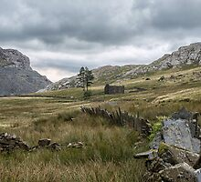Cwmorthin Slate Quarry by Judi Lion