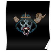 Lich Sugar skull Poster