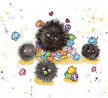 Dust Bunnies by AAMurray