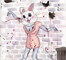 Zombie Bunny Hooker by AAMurray