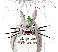 Raining on Totoro's Parade  by AAMurray