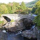 The Old Bridge, Invermoriston by mike  jordan.
