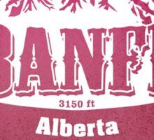 Banff Alberta Ski Resort Sticker