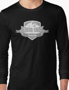 Beaver Creek Colorado Ski Resort Long Sleeve T-Shirt