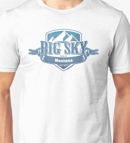 Big Sky Montana Ski Resort Unisex T-Shirt