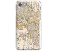 Vintage Antique Map of Europe Circa 1652 iPhone Case/Skin