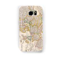 Vintage Antique Map of Europe Circa 1652 Samsung Galaxy Case/Skin