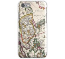 Vintage Antique Map of Asia Circa 1632 iPhone Case/Skin