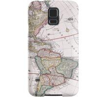 Vintage Antique Map of America Circa 1746 Samsung Galaxy Case/Skin