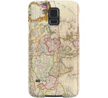 Vintage Antique French Map Europe to Asia Circa 1732 Samsung Galaxy Case/Skin
