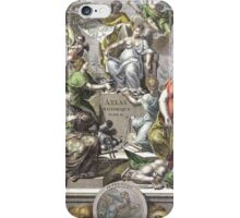 Vintage Antique Atlas Cover iPhone Case/Skin