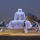 The Lions Fountain at wintertime - Paris 12e by bubblehex08