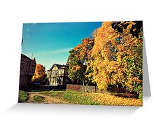 Autumn is Golden Greeting Card