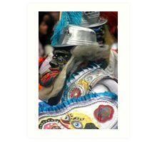 Folk Dancing Corso Wong Art Print