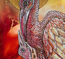 The Sacrifice (Sacred Pelican) by Lynnette Shelley