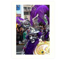 Folk Dancing Diablada Corso Wong Art Print