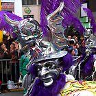 Folk Dancing Diablada Corso Wong by Luis Fernando Del Águila Mejía
