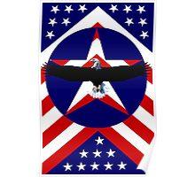 American, wings Poster