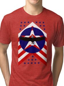 American, wings Tri-blend T-Shirt