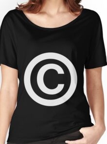 Copyright Women's Relaxed Fit T-Shirt