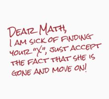 Dear Math by e2productions