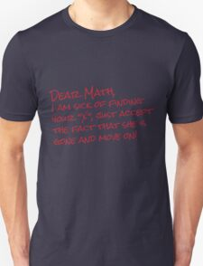 Dear Math T-Shirt