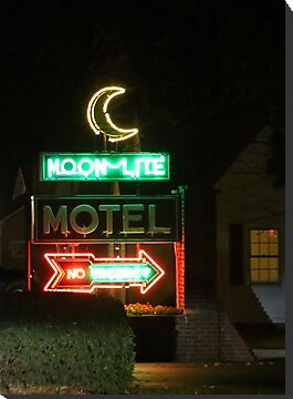 Motel in Versailles, Indiana by Alice Kahn