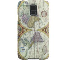 New and Accurate Map of the World Circa 1626 Samsung Galaxy Case/Skin