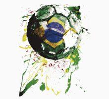 football Brazil One Piece - Short Sleeve