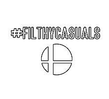 #Filthycasuals (Smash Bros) Photographic Print