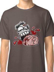 Zombie Eats Brains Classic T-Shirt