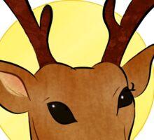 Deer God Sticker