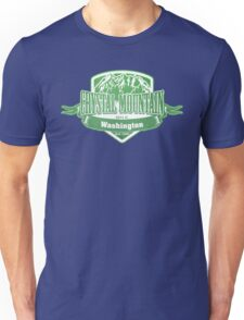 Crystal Mountain Washington Ski Resort Unisex T-Shirt