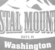 Crystal Mountain Washington Ski Resort Sticker