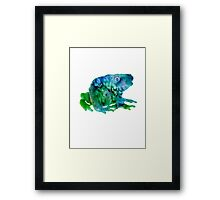 Sir Frog  Framed Print