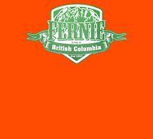 Fernie British Columbia Ski Resorts Unisex T-Shirt
