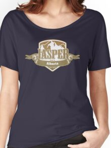 Jasper Alberta Ski Resort Women's Relaxed Fit T-Shirt
