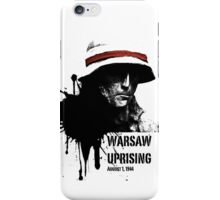 Warsaw Uprising 44 - Poland iPhone Case/Skin