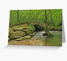 Packhorse bridge Greeting Card