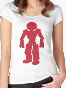 Red Robot Women's Fitted Scoop T-Shirt