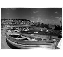 Mousehole Harbour Cornwall UK Poster