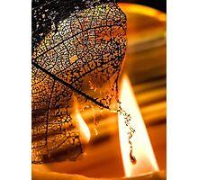 Dark Flames Photographic Print