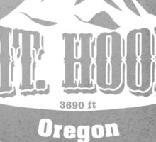 Mt Hood Oregon Ski Resort Sticker